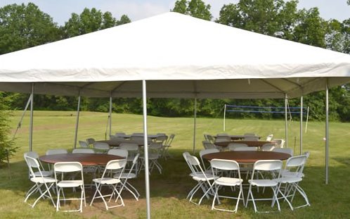 Marquee Hexagon Tent Open Tent & Special Tent Offers Party Rentals | New Albany OH